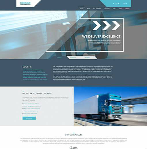 AitThemes Cargo - Download Responsive Transport and Logistic WordPress Theme