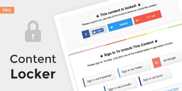 MyThemeShop Content Locker Pro - Download Premium WordPress Plugin