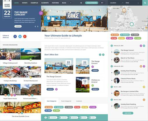 AitThemes Event Guide - Download Responsive Directory WordPress Theme