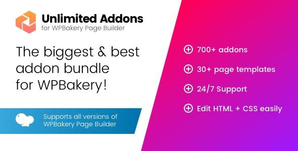 CodeCanyon Unlimited Addons Mega Bundle for Visual Composer Download