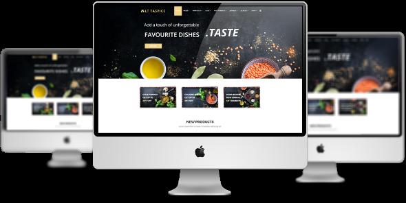 LT Taspice Pro - Download Premium Private Spice Shop Virtuemart Joomla Template