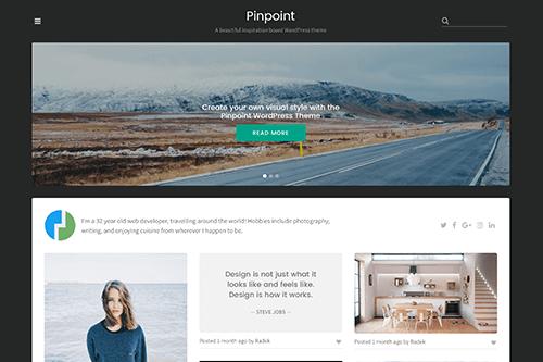 Theme-Junkie Pinpoint - Download Responsive Minimal Portfolio WordPress Theme