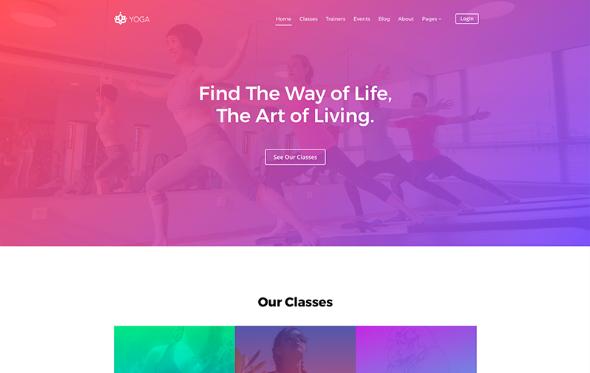JoomShaper Yoga - Download Gym, Spa, Fitness Club Joomla Template
