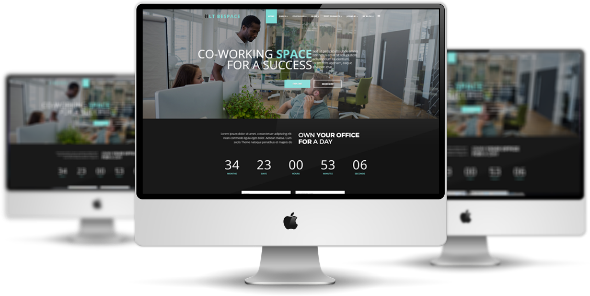 LT Bespace Pro - Download Premium Private Conference Space Rentals / Coworking Spaces Joomla Template