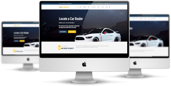 LT Carmarket Pro - Download Premium Private Advertising Agency / Car Dealer Joomla Template