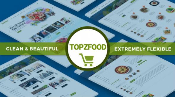 SJ TopzFood - Download Delicious Food & Restaurant Joomla VirtueMart Template