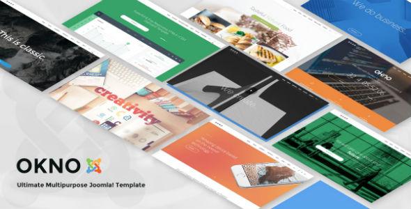 Templaza Okno - Download Responsive Multipurpose Joomla Template