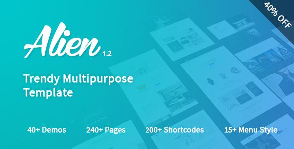 ThemeForest Alien - Download Responsive Multipurpose HTML5 Template
