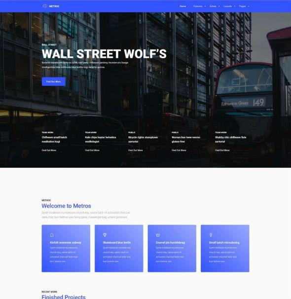 YouJoomla Metros - Download Responsive Business Start-Up Joomla Template
