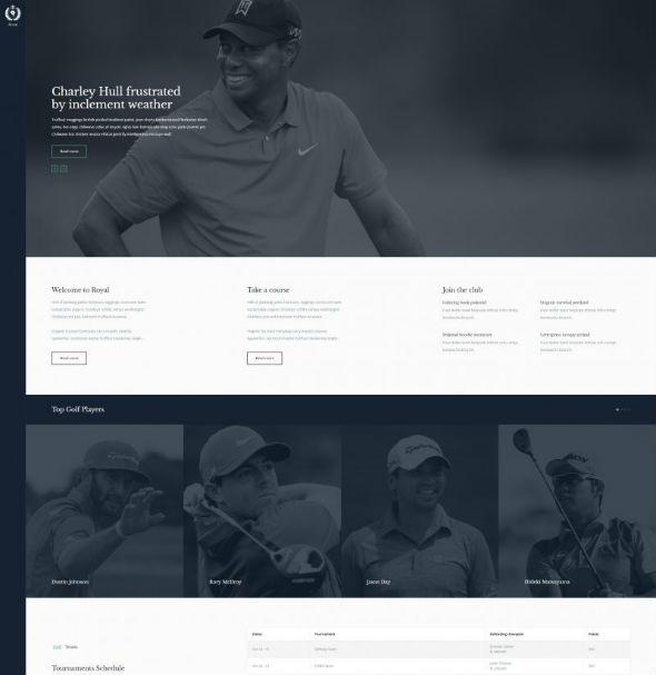 YouJoomla Royal - Download Joomla Sports Club Template