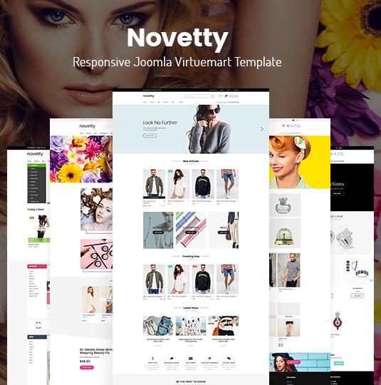 ZT Novetty - Download Responsive Virtuemart Template for Joomla