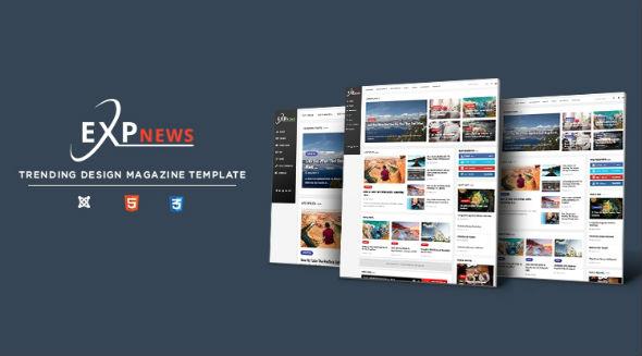 SJ ExpNews - Download Clean & Modern News Portal Joomla Template