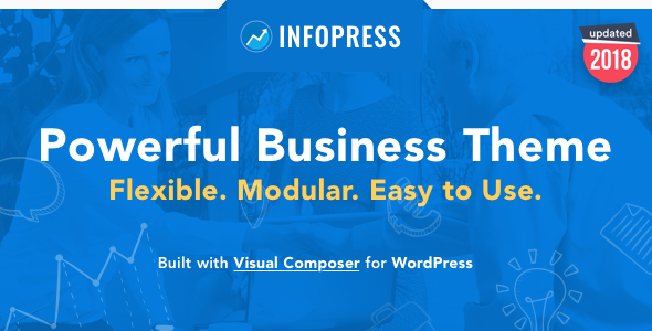 ThemeForest Infopress - Download Multi-Purpose Business WordPress Theme