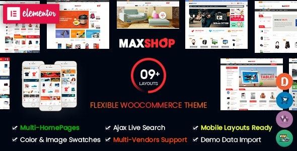 ThemeForest Maxshop - Download Multi-Purpose Responsive WooCommerce Theme