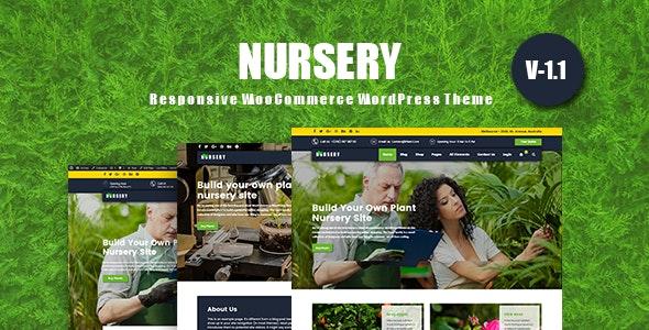 ThemeForest NurseryPlant - Download Responsive WooCommerce WordPress Theme