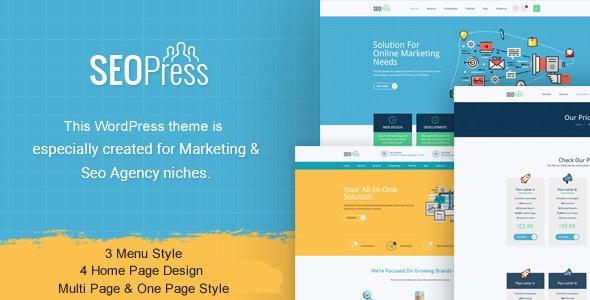 ThemeForest SeoPress - Download Digital Marketing Agency WordPress Theme