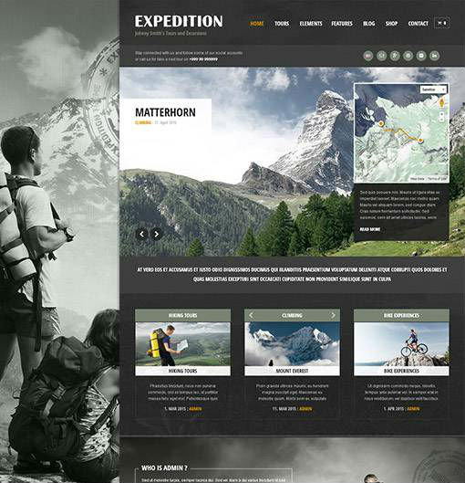 AitThemes Expedition - Download Responsive Travel WordPress Theme