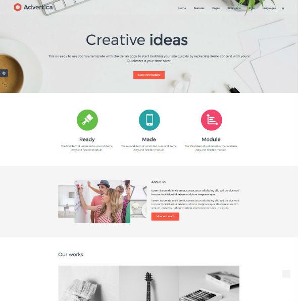 JM Company - Download Responsive Simple Business Joomla Template