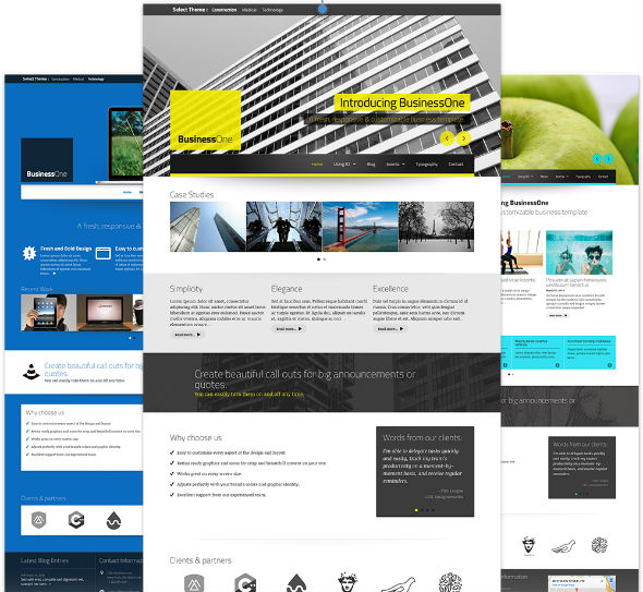 JoomlaWorks BusinessOne - Download Responsive Corporate Joomla Template