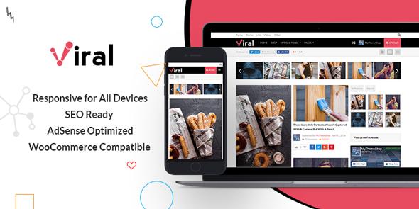 MyThemeShop Viral - Download WordPress Theme For Social Media Marketers