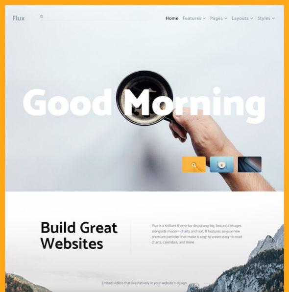 RocketTheme Flux - Download Responsive Corporate WordPress Theme