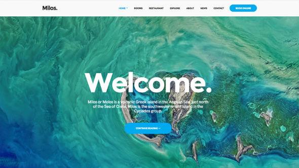 CssIgniter Milos - Download Responsive Hotel WordPress Theme