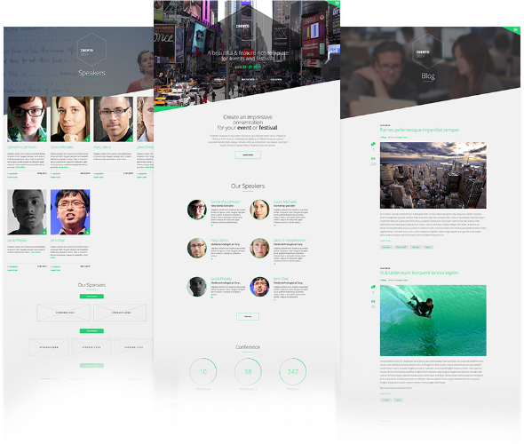JoomlaWorks Ibento - Download Joomla Template for Events and Conferences