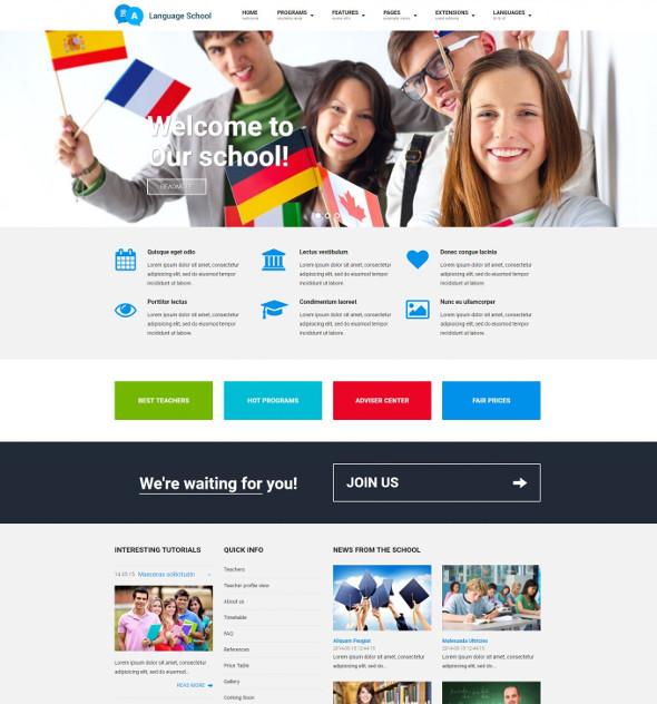 JM Education - Download Joomla School Template with WCAG Compliance