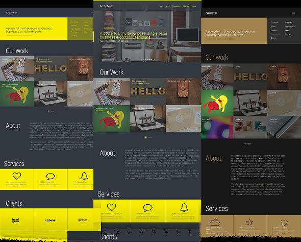 JoomlaWorks Archetype - Download Creative Portfolio Joomla Template