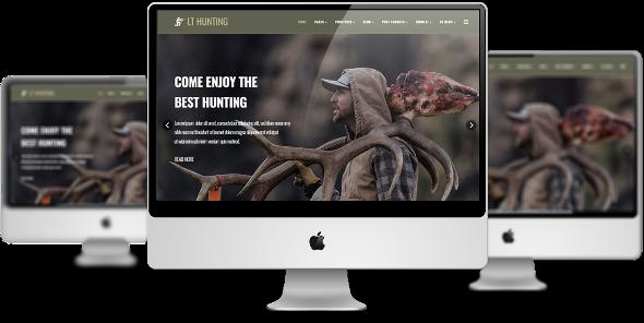 LT Hunting Pro - Download Premium Private Hunting Joomla Template