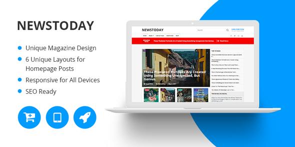 MyThemeShop NewsToday - Download Multipurpose Magazine WordPress Theme