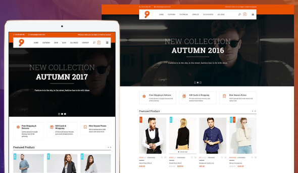 Templaza 9 Fashion - Download eCommerce WooCommerce WordPress Theme