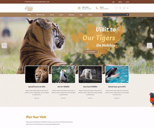 Templaza Gnad Park - Download Zoo WordPress Theme