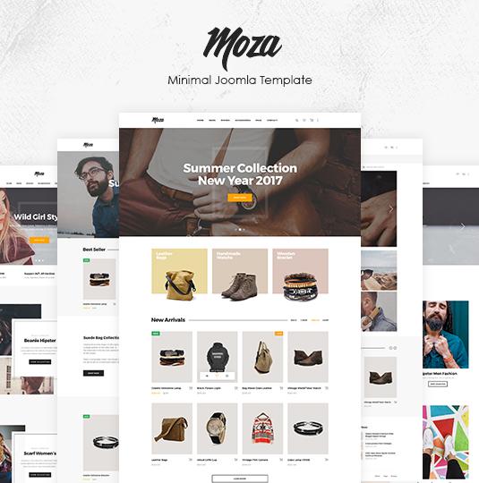 ZT Moza - Download Responsive Virtuemart Joomla Template