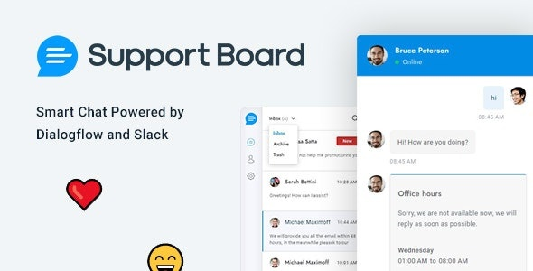 CodeCanyon Support Board - Chat And Help Desk Download WordPress Plugin