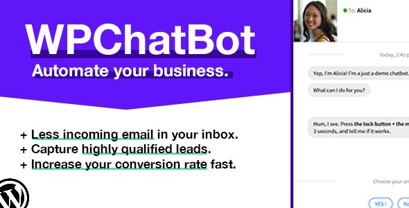 CodeCanyon WP Chatbot - Download WordPress Chatbot Builder