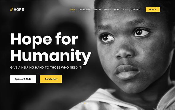 JoomShaper Hope - Download The Ultimate Charity & Fundraising Joomla Template