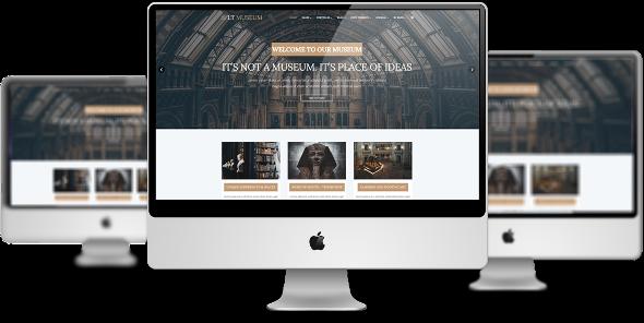 LT Museum Pro - Download Premium Private Museum Joomla Template