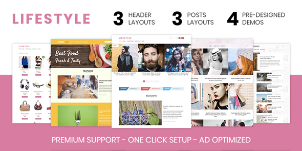 MyThemeShop Lifestyle - Download Elegant Magazine WordPress Theme