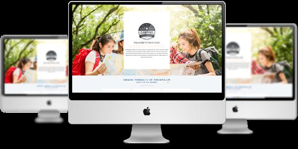 LT Camping Pro - Download Premium Private Camping Joomla Template