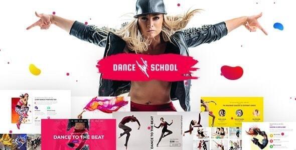 ThemeForest Dance School - Download Dance Studio, Dance Academy WordPress Theme