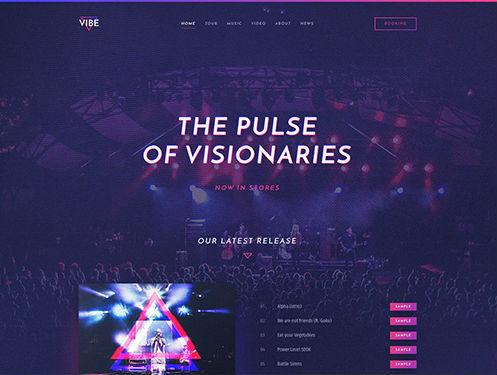YooTheme Pro Vibe - Download Responsive Music and Artist WordPress Theme