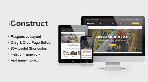 SJ iConstruct - Download Responsive Multipurpose Business Joomla Template