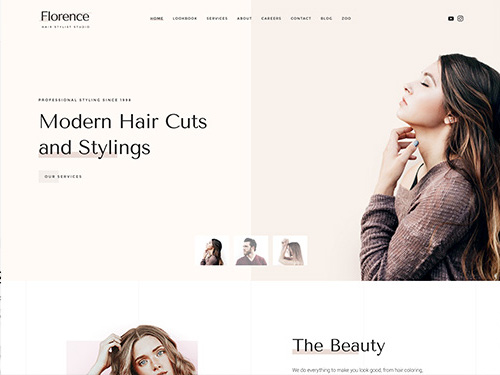 YooTheme Pro Florence - Download Business Template for Joomla