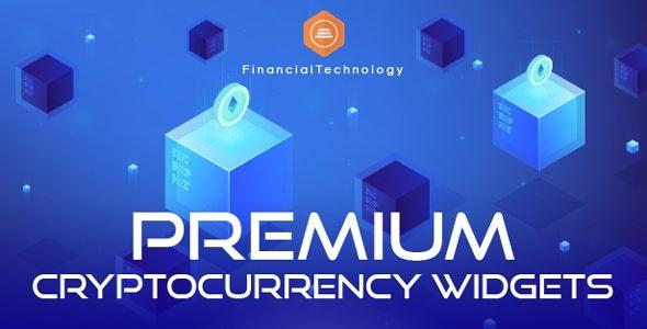 CodeCanyon Premium Cryptocurrency Widgets JS / PHP Script Download