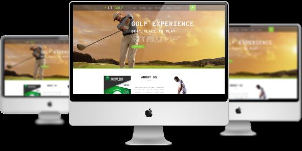 LT Golf Pro - Download Responsive Sport Joomla Template