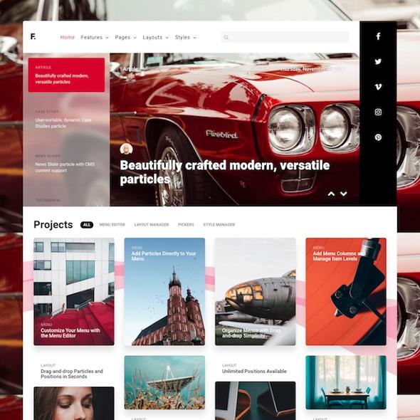 RocketTheme Fluent - Download Responsive Corporate WordPress Theme