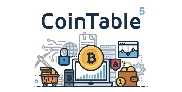 CodeCanyon Coin Table - Download Cryptocurrency Market CMS PHP Script