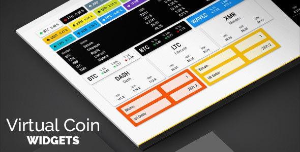 CodeCanyon Virtual Coin Widgets - Download Cryptocurrencies Shortcodes WordPress Builder Plugin