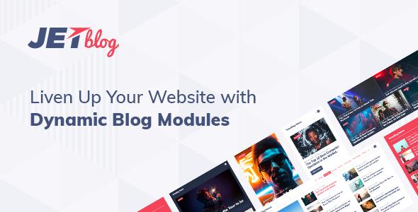 CodeCanyon JetBlog - Download Blogging Package for Elementor Page Builder WordPress Plugin